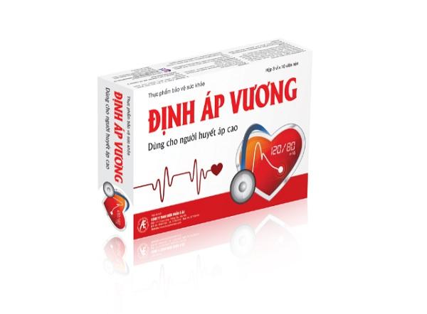Định Áp Vương hỗ trợ điều trị tăng huyết áp an toàn, hiệu quả