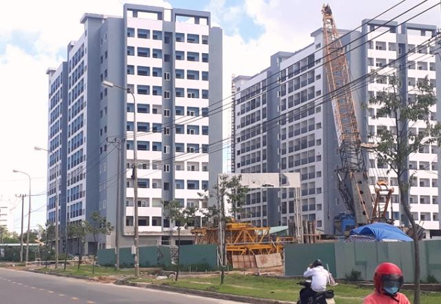 có 280 căn hộ được mở bán, diện tích từ 36,78m2 đến 70m2, giá bán căn hộ là 9.417.000 đồng/m2