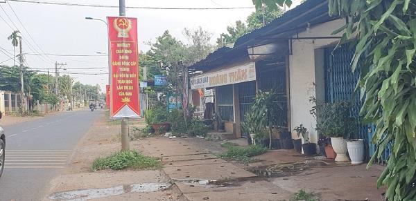 Vị trí kios tại đường Bình Lộc Suối Tre