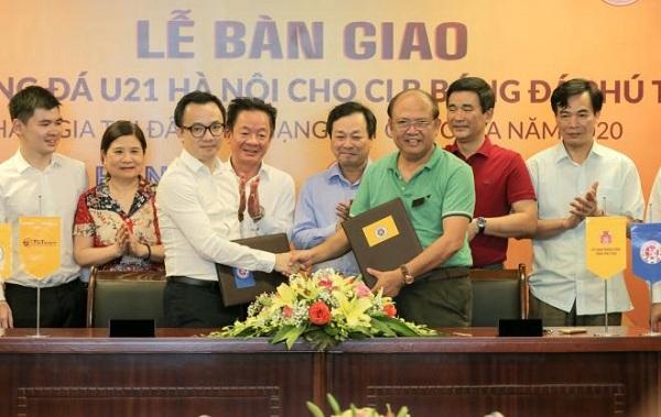Phú Thọ FC sẽ thi đấu mùa giải tới với nòng cốt là đội U21 Hà Nội