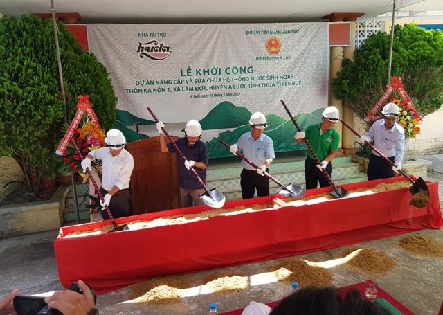 Lễ Khởi công tại thôn Ka Nôn 1