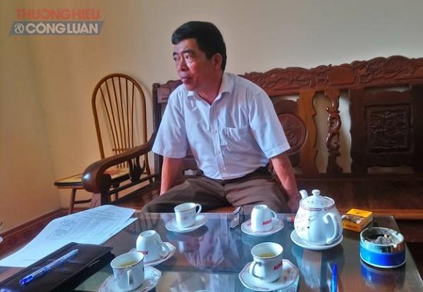 Ông Trần Văn Thắng chủ tịch UBND xã Thượng Ấm