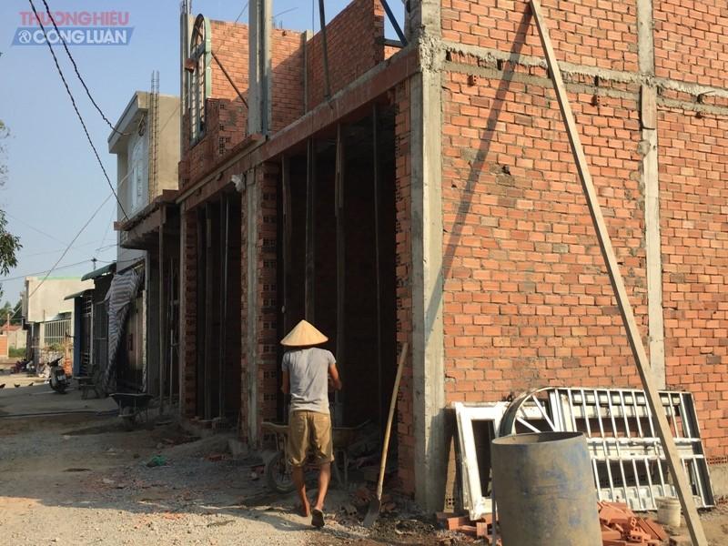 Vấn đề vi phạm trật tự xây dựng tại địa bàn xã Phước Tân đang đang diễn ra phổ biến