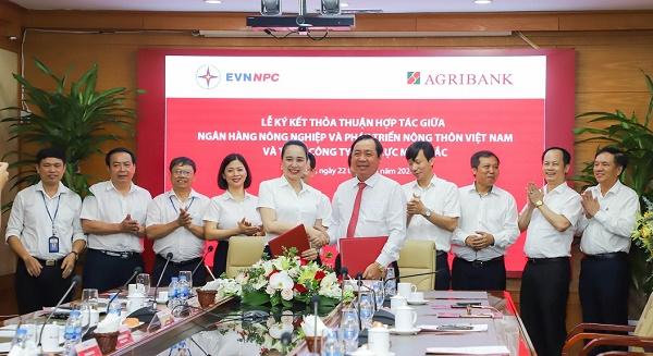 Ký kết thỏa thuận hợp tác giữa Ngân hàng Nông nghiệp và Phát triển Nông thôn Việt Nam (Agribank) và Tổng công ty Điện lực miền Bắc (EVNNPC)
