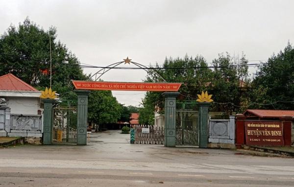 Trụ sở UBND huyện Yên Định (Thanh Hóa)
