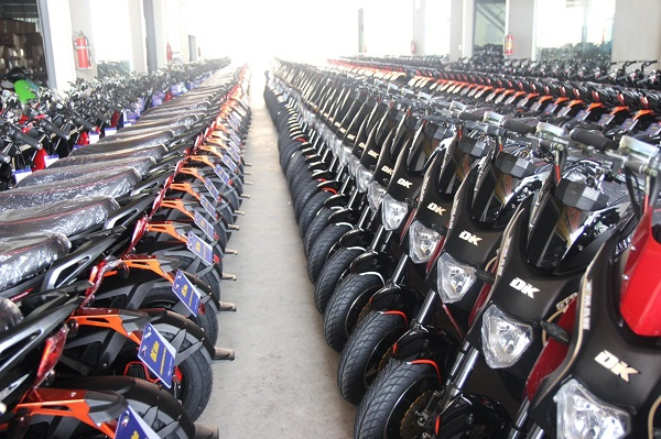 Sản phẩm xe máy điện DK