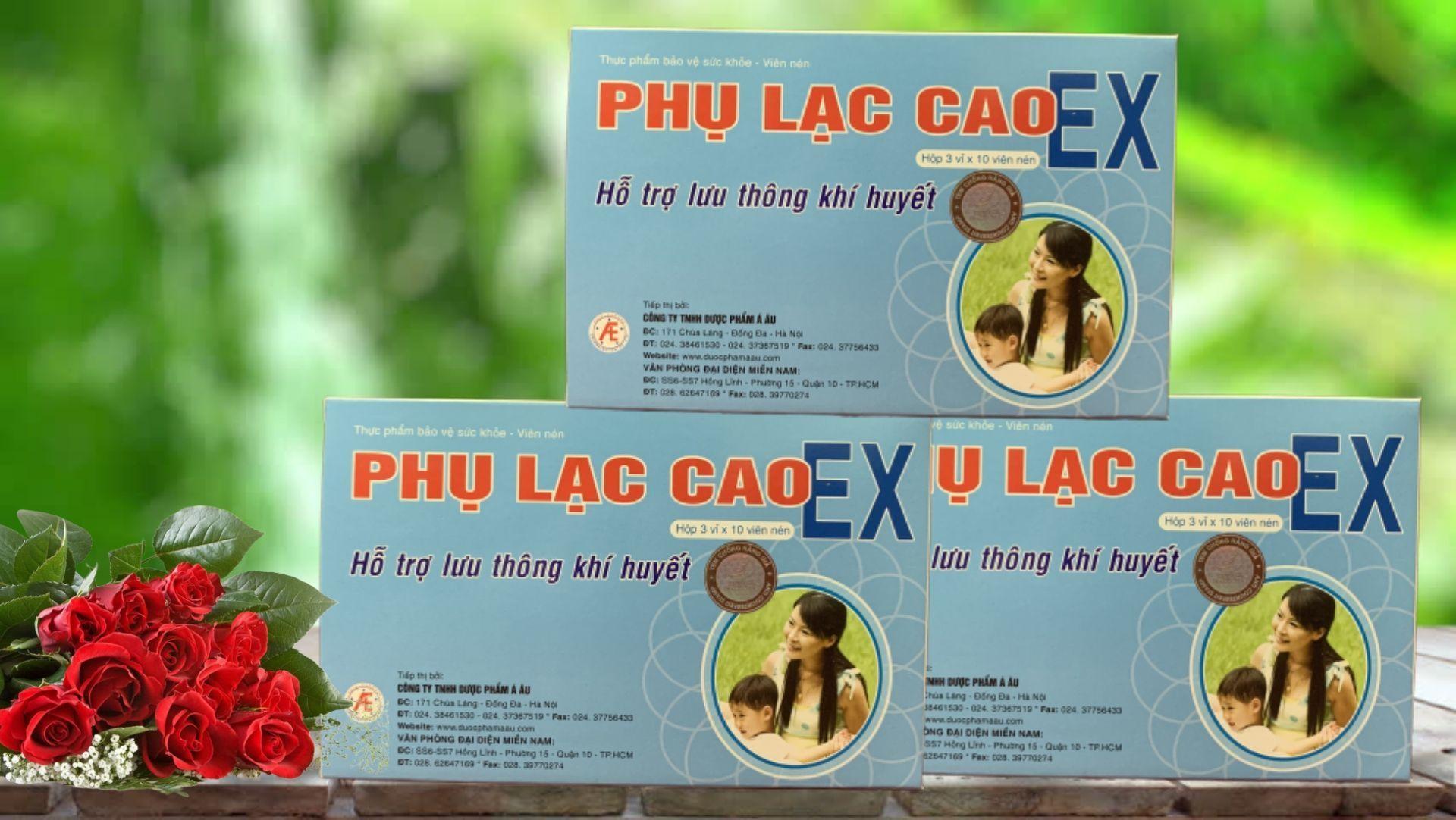 Phụ Lạc Cao EX hỗ trợ điều trị lạc nội mạc tử cung hiệu quả