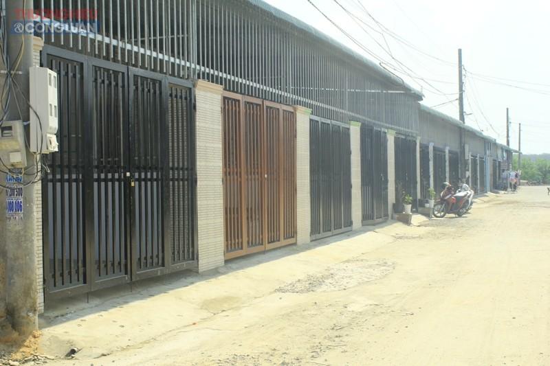 Công trình nhà ở xây dựng trái phép tại khu vực Hoa Đệ Nhất (ấp 7, xã An Phước)