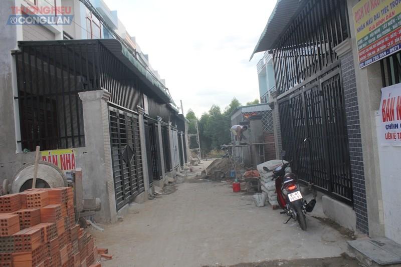 Công trình trái phép mọc lên như nấm sau mưa tại địa bàn ấp 8, xã An Phước