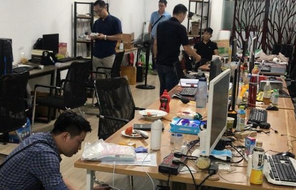 Cảnh sát khám xét đại bản doanh của cổng game