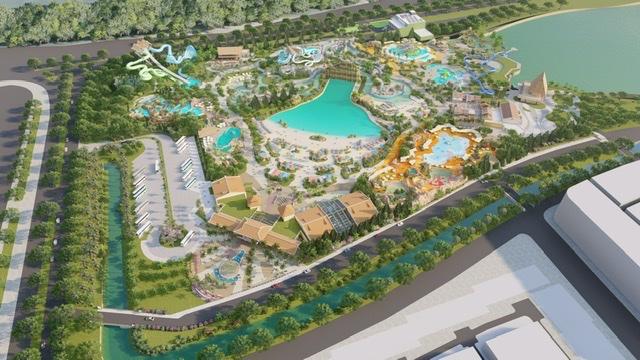 Công viên nước Phu Quoc Marina có tổng vốn đầu tư 35 triệu USD