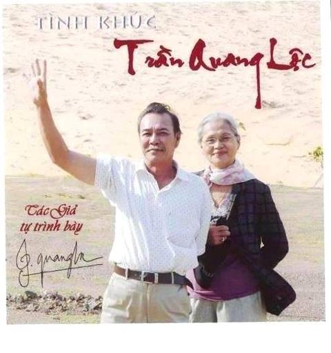 Vợ chồng nhạc sĩ Trần Quang Lộc