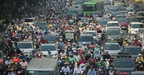 Hàng chục triệu xe máy hiện vẫn chưa được kiểm soát về khí thải