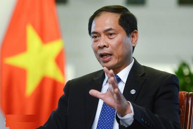 Thứ trưởng Ngoại giao Bùi Thanh Sơn