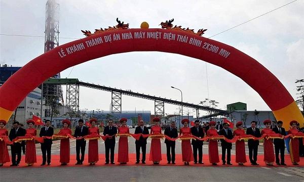 Lễ khánh thành Nhà máy Nhiệt điện Thái Bình ngày 14/2/2019