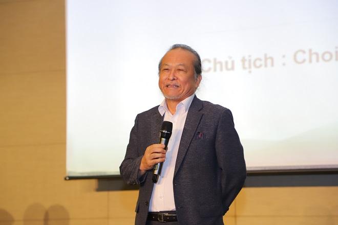 Chủ tịch văn phòng IQCS chi nhánh Việt Nam - cơ quan chứng nhận ISO 17024, ông Choi Bong Sik phát biểu