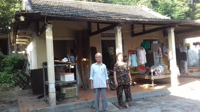 Gia đình ông Nguyễn Văn Chức ở thôn Thượng 4, phường Thuỷ Xuân (Huế)