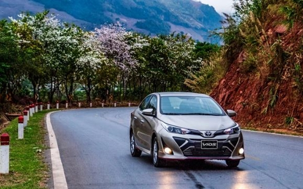 Toyota Vios: Doanh số 1.958 chiếc
