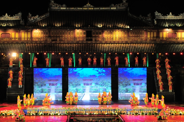 Ngọ Môn- Huế, Sân khấu chính của Lễ hội Festival