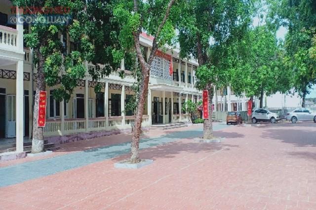 Trường THCS Ngư Lộc, huyện Hậu Lộc (Thanh Hoá)