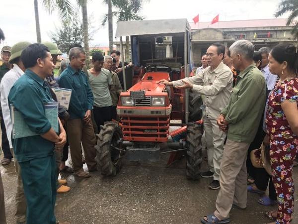 Tập huấn vận hành sửa chữa máy cơ khí nông nghiệp