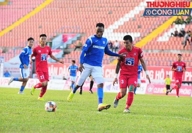 Kết thúc trận Derby Đông Bắc,Than Quảng Ninh được 7 điểm vươn lên thứ 7 trong BXH V.league,còn Hải Phòng tụt xuống vị trí thứ 9 với 5 điểm sau 5 vòng đấu