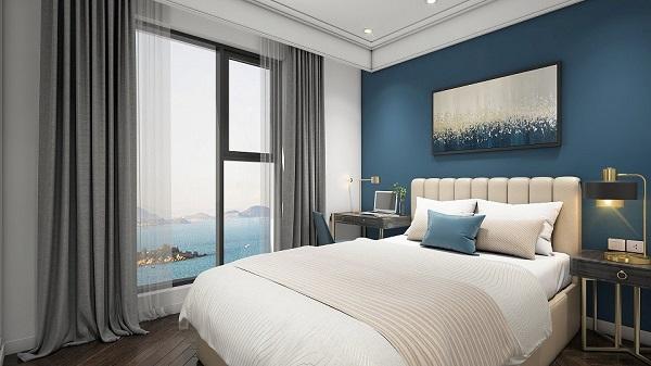 Các căn hộ tại đây có từ 1 đến 2 phòng ngủ