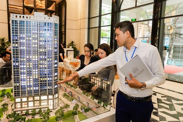 King Palace đang là dự án cao cấp được quan tâm bậc nhất tại Thủ đô