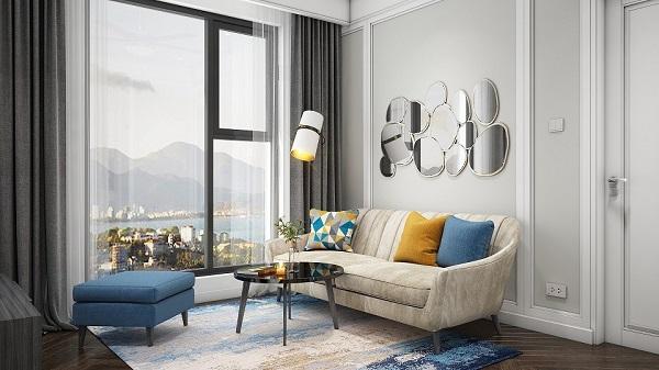 Vị trí đắc địa nên tất cả các căn hộ đều có tầm view biển đắt giá