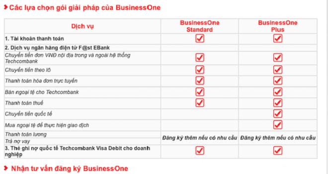 Bussinessone - giải pháp an toàn, thuận tiện và tối ưu chi phí cho doanh nghiệp