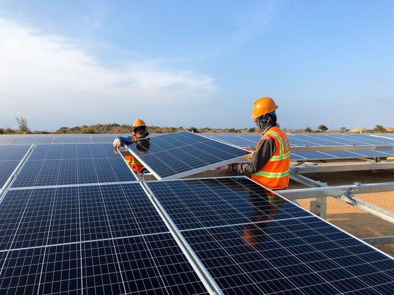 Nhà máy điện mặt trời Phước Ninh có công suất 45MW với tổng vốn đầu tư trên 1.000 tỷ đồng, mỗi năm sẽ cung cấp cho lưới điện quốc gia khoảng 75 triệu kWh/năm.