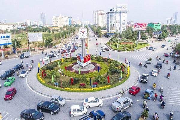 Một góc thành phố Vinh (Nghệ An)