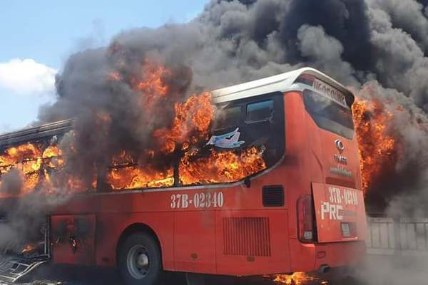 Cục Đăng kiểm Việt Nam đưa ra các khuyến cáo nhằm ngăn ngừa, hạn chế cháy xe