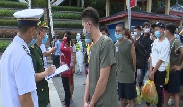 Lạng Sơn tiếp nhận 91 công dân Việt Nam do Trung Quốc trao trả