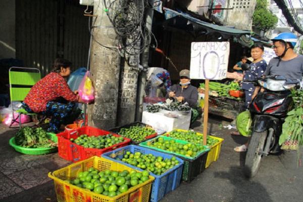 Chanh Việt Nam đã bị tỉnh Kandal - Campuchia cấm nhập khẩu