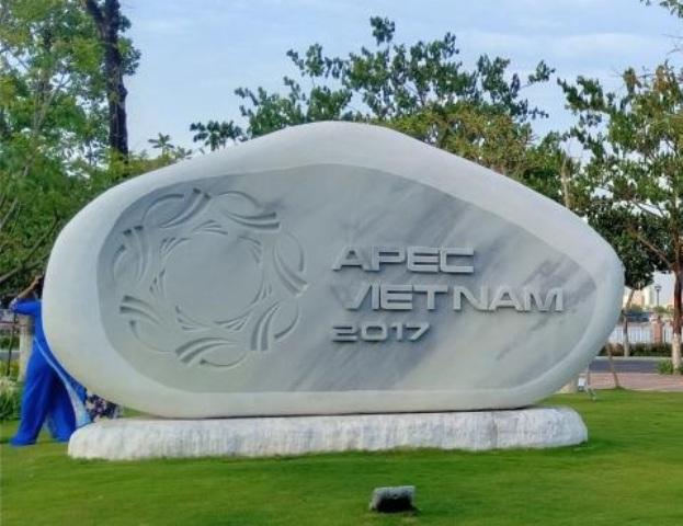 Dự án Vườn tượng APEC nằm ở khu vực bờ sông Hàn có kinh phí xây dựng hồ 759 tỷ đồng