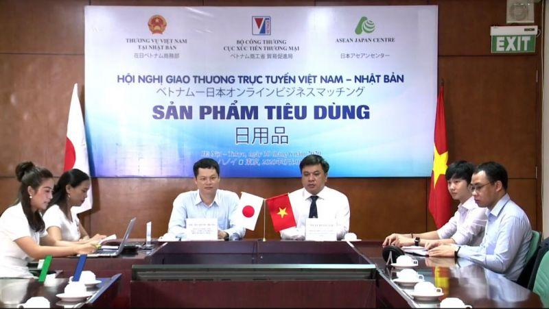 Hội nghị giao thương trực tuyến sản phẩm tiêu dùng Việt Nam - Nhật Bản