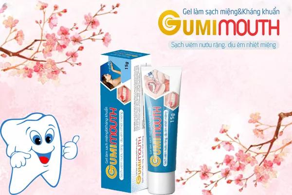 Gumimouth giúp hỗ trợ cải thiện nhiệt miệng, nhiệt lưỡi hiệu quả