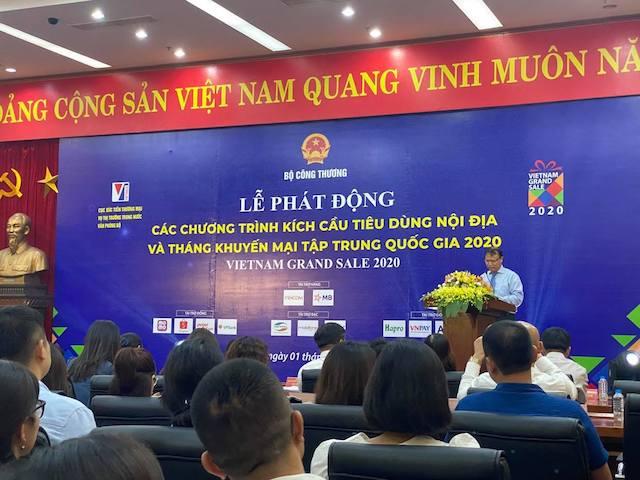 Ông Đỗ Thắng Hải, Thứ trưởng Bộ Công thương, Phó Trưởng ban chỉ đạo trung ương cuộc vận động người Việt Nam ưu tiên dùng hàng Việt Nam