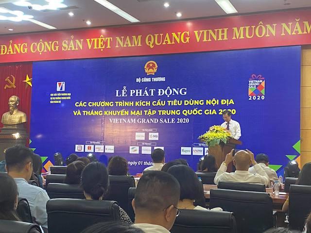 Ông Trần Duy Đông, Vụ trưởng Vụ thị trường trong nước – Bộ Công thương