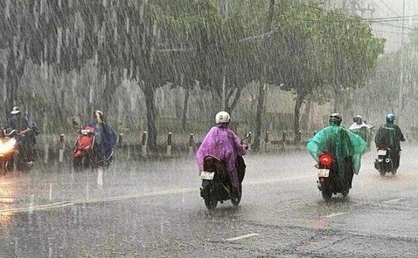Thời tiết ngày 3/7: Nhiều khu vực trên cả nước có mưa và dông