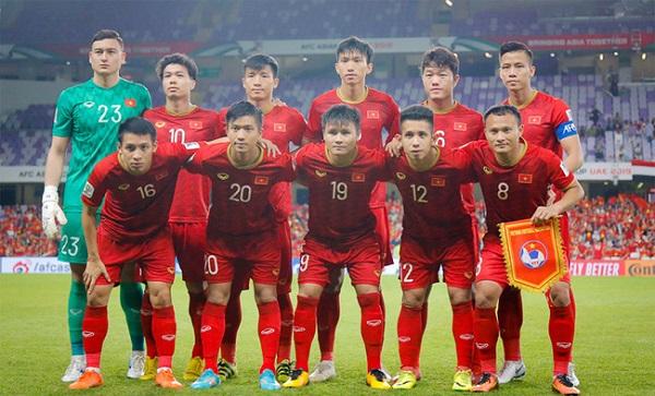 Giá trị đội hình của ĐT Việt Nam đã cán mốc 4,23 triệu euro