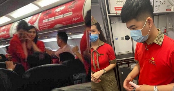 Ném điện thoại vào tiếp viên Vietjet, bà Bùi Thị Phương C. bị cấm bay 12 tháng