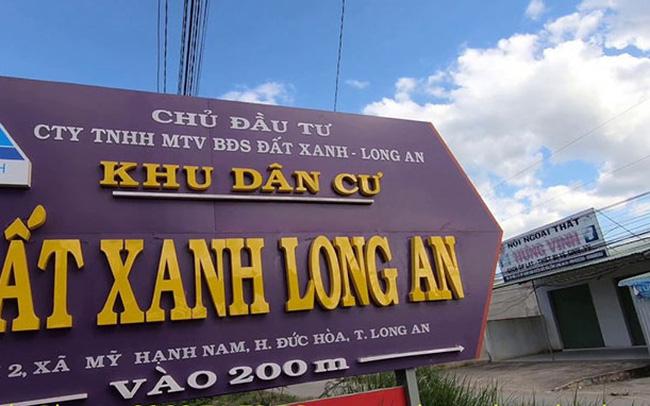 Công ty cổ phần Tập đoàn Đất Xanh đã tiến hành các thủ tục pháp lý khởi kiện Đất Xanh Long An