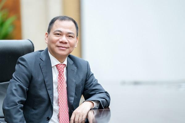 Ông Phạm Nhật Vượng - Chủ tịch Tập đoàn Vingroup