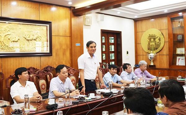Tân chủ tịch Petrolimex Hà Nội Nguyễn Đồng phát biểu tại buổi lễ