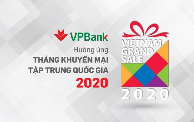 Nhiều ưu đãi hấp dẫn cho chủ thẻ VPBank trong Vietnam Grand Sale 2020