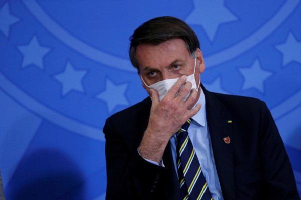 Tổng thống Brazil Jair Bolsonaro - Ảnh: REUTERS
