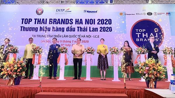 Khai mạc triển lãm Thương hiệu hàng đầu Thái Lan 2020