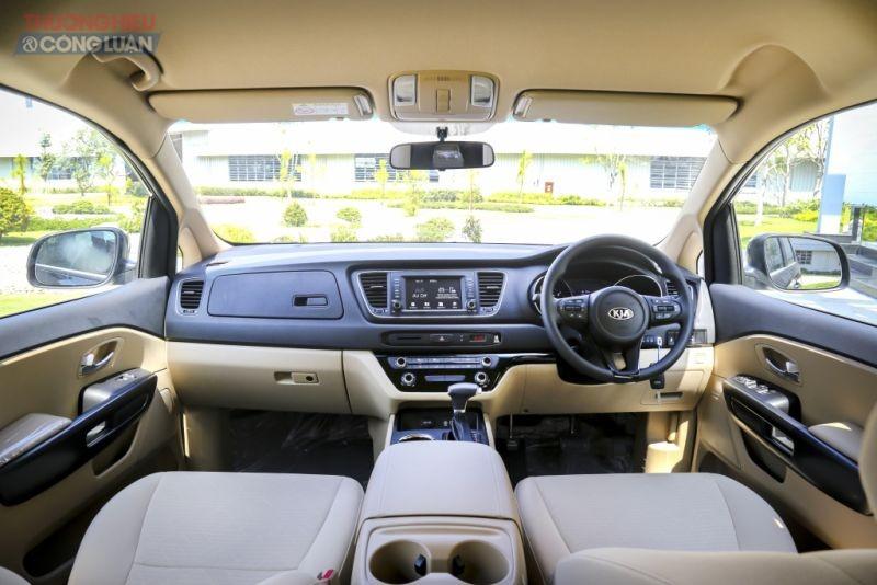 Tính năng an toàn vượt trội và tiện nghi... tạo nên đẳng cấp đồng xe hơi Kia Grand